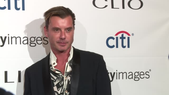 Gavin Rossdale at 2016 Clio Awards at American Museum of Natural History on September 28 2016 in New York City