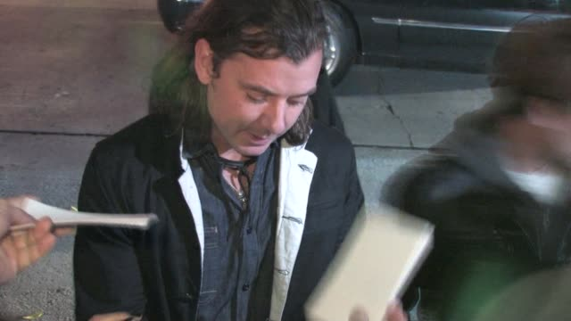 Gavin Rossdale at Chateau Marmont in West Hollywood 01/15/11 at the Celebrity Sightings in Los Angeles at Los Angeles CA