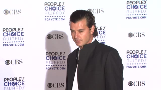 Gavin Rossdale at the 35th Annual People's Choice Awards at Los Angeles CA