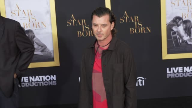 Gavin Rossdale at the A Star Is Born Los Angeles Premiere at The Shrine Auditorium on September 24 2018 in Los Angeles California