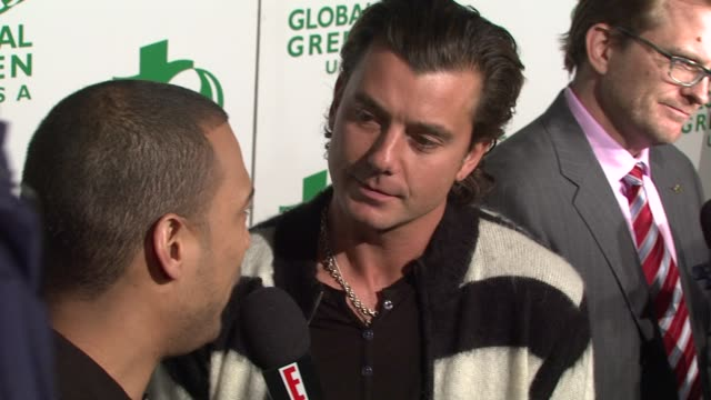 Gavin Rossdale at the Global Green USA's 6th Annual PreOscar Party Benefiting Green Schools at Los Angeles CA