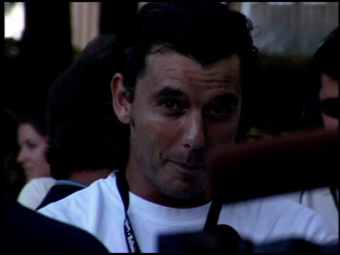 Gavin Rossdale at the Night at the Net Charity Tennis at UCLA in Westwood California on July 25 2005