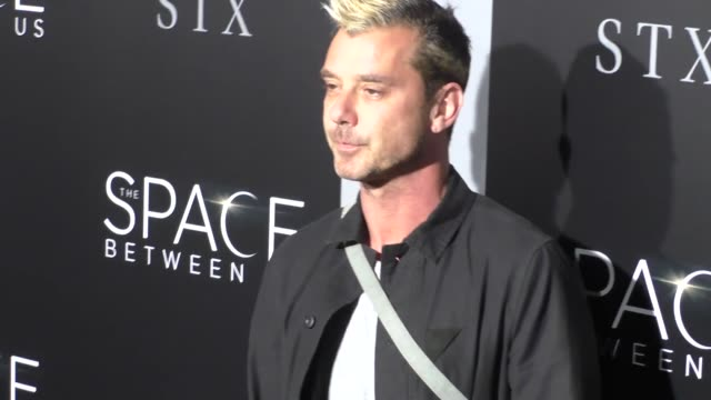 Gavin Rossdale at The Space Between Us LA Special Screening on January 17 2017 in Hollywood California