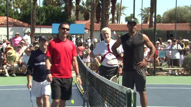Gavin Rossdale Bors Kodjoe at the 7th Annual KSwiss Desert Smash at Palm Springs CA