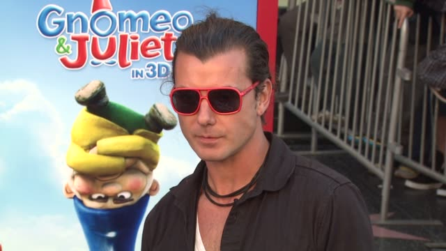 Gavin Rossdale Kids at the 'Gnomeo Juliet' Premiere at Los Angeles CA