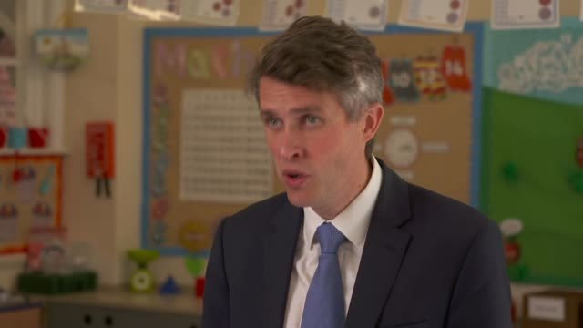 gavin williamson school visit and interview england london bromley penge harris primary academy kent house ext gavin williamson mp interview sot... - female animal stock videos & royalty-free footage