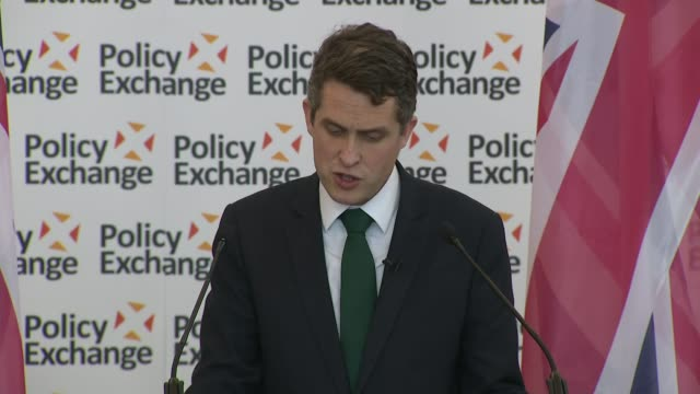 Gavin Williamson speech Gavin Williamson speech SOT A long period of peace threats are increasing again profound moment in our history A crossroads...
