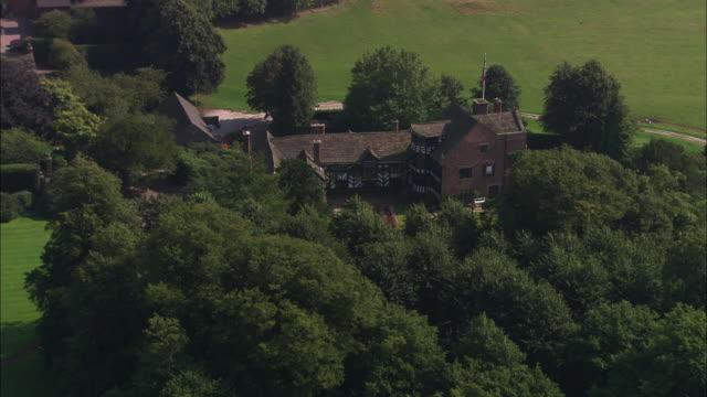 gawsworth hall - 英チェシャー州点の映像素材/bロール