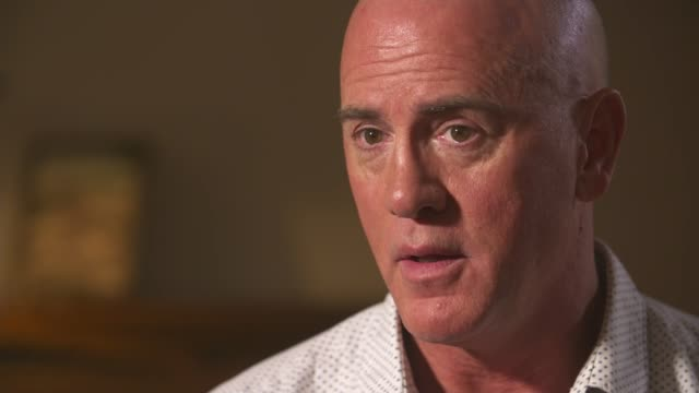 vídeos de stock, filmes e b-roll de gay conversion therapy pioneer reveals he is gay and calls for a ban on the practice usa utah salt lake city int various of reporter talking to david... - ocupação na mídia