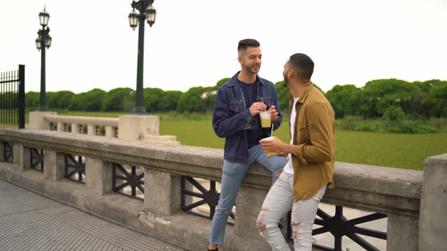 gay couple - puerto madero stock videos & royalty-free footage