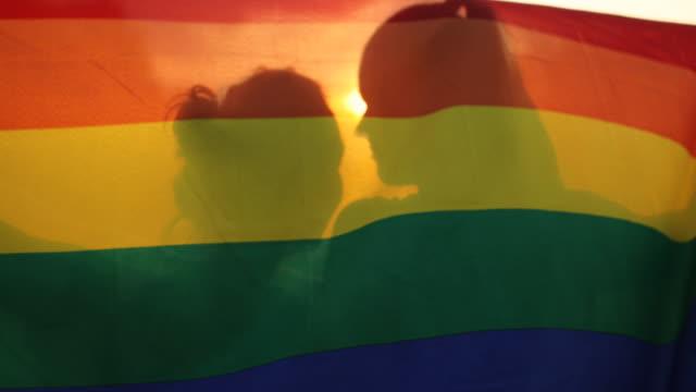 vídeos de stock e filmes b-roll de gay rights - orgulho
