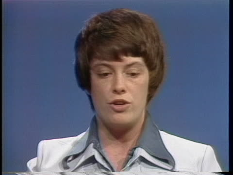 gay task force spokesperson jean o'leary discusses stereotypes regarding sexual orientation. - human sexual behaviour stock videos & royalty-free footage