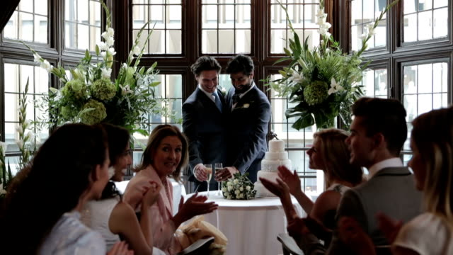 gay wedding - wedding stock videos & royalty-free footage