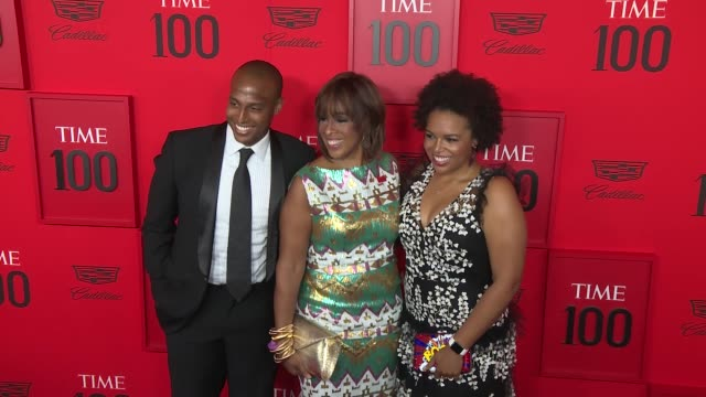 gayle king and children kirby bumpus and william bumpus jr at time 100 most influential people in the world at jazz at lincoln center on april 23... - gayle king stock videos & royalty-free footage
