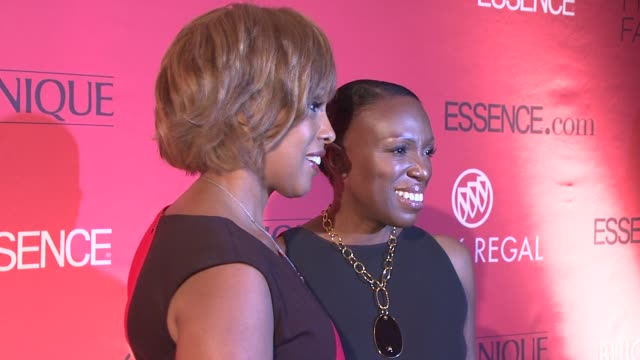 Gayle King and Mikki Taylor at the Essence Magazine 40th Anniversary Fierce Fabulous Awards Luncheon at New York NY