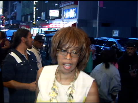 gayle king arrive at cort theatre in new york at the celebrity sightings in new york at new york ny - gayle king stock videos & royalty-free footage