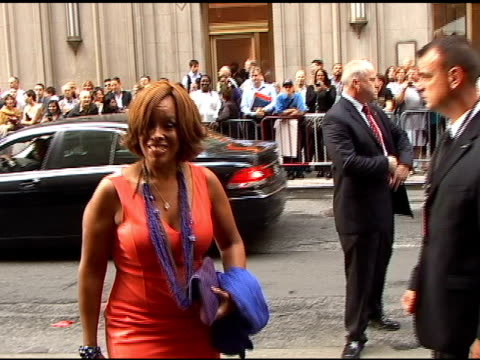 gayle king arrives for the opening of 'spiderman turn off the dark' in times square in new york 06/14/11 - gayle king stock videos & royalty-free footage