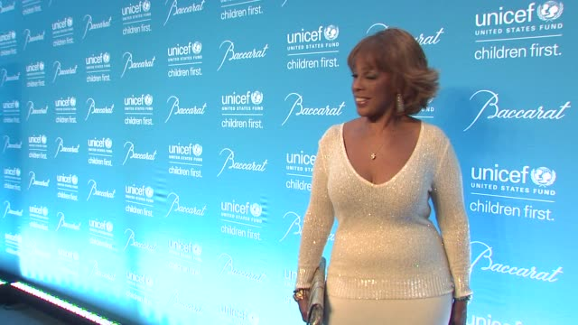 gayle king at 10th annual unicef snowflake ball at cipriani wall street on december 02 2014 in new york city - gayle king stock videos & royalty-free footage