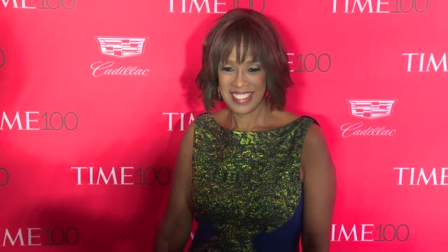 gayle king at 2016 time 100 gala time's most influential people in the world red carpet at jazz at lincoln center on april 26 2016 in new york city - gayle king stock videos & royalty-free footage