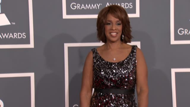 Gayle King at 54th Annual GRAMMY Awards Arrivals on 2/12/12 in Los Angeles CA