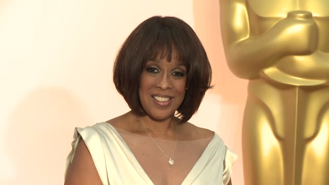 gayle king at 87th annual academy awards arrivals at dolby theatre on february 22 2015 in hollywood california - gayle king stock videos & royalty-free footage