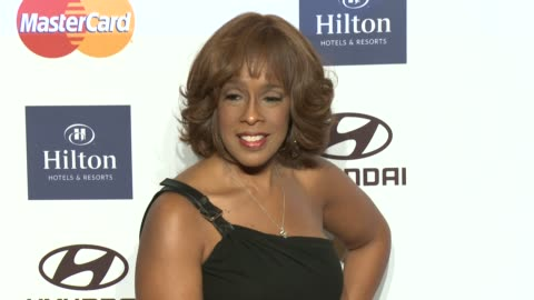 gayle king at pre-grammy gala & salute to industry icons with clive davis honoring antonio l.a. reid 2/9/2013 in beverly hills, ca. - gayle king stock videos & royalty-free footage