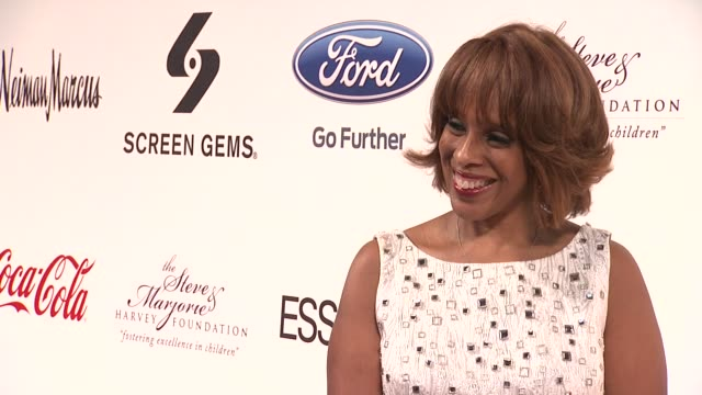 gayle king at steve harvey hosts the screen gems presents the steve and marjorie harvey foundation gala in ny at cipriani wall street on may 14, 2012... - gayle king stock videos & royalty-free footage