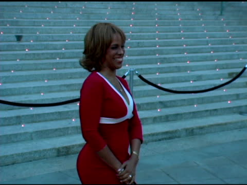 gayle king at the 2006 tribeca film festival vanity fair party at state supreme courthouse in new york new york on april 26 2006 - gayle king stock videos & royalty-free footage