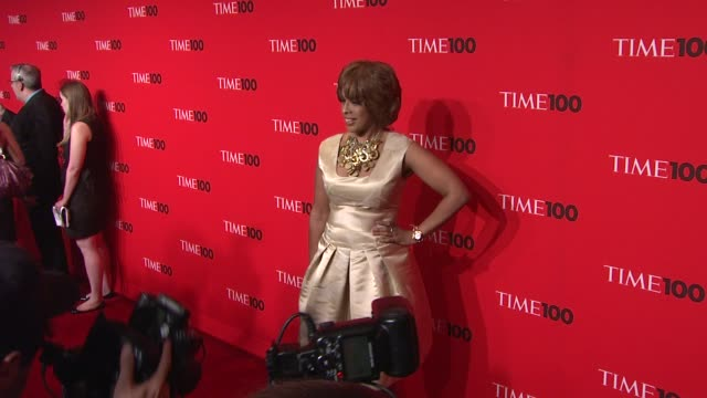 gayle king at the 2010 time 100 gala at new york ny - gayle king stock videos & royalty-free footage