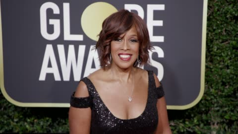 gayle king at the 75th annual golden globe awards at the beverly hilton hotel on january 07, 2018 in beverly hills, california.gayle king - gayle king stock videos & royalty-free footage