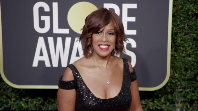 gayle king at the 75th annual golden globe awards at the beverly hilton hotel on january 07 2018 in beverly hills californiagayle king - gayle king stock videos & royalty-free footage