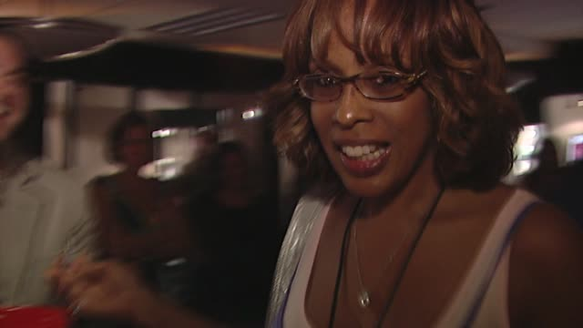 gayle king at the bertolli at the presenters gift lounge celebrating the primetime emmy awards hosted by aeg ehrlich ventures at los angeles ca. - gift lounge stock videos & royalty-free footage