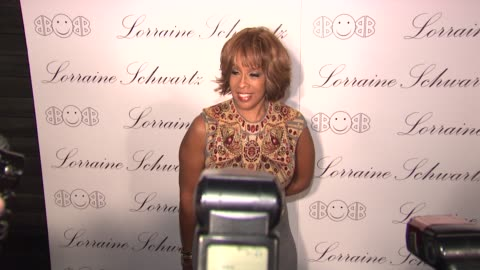 gayle king at the beyonce knowles hosts the launch event for the lorraine schwartz '2bhappy' jewelry collection - red carpet at new york ny. - gayle king stock videos & royalty-free footage