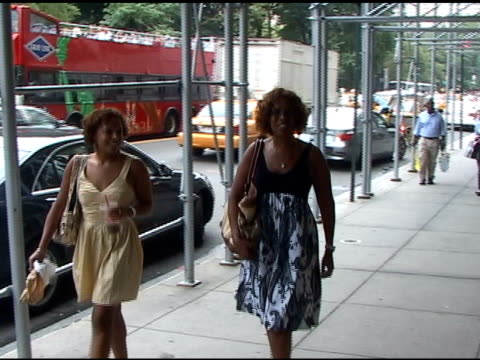 gayle king at the celebrity sightings in new york at new york ny - gayle king stock videos & royalty-free footage