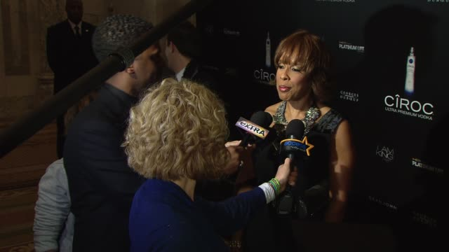 gayle king at the ciroc vodka presents sean 'diddy' combs' birthday celebration at new york ny - gayle king stock videos & royalty-free footage