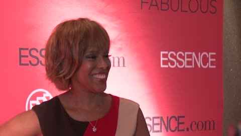 gayle king at the essence magazine 40th anniversary fierce & fabulous awards luncheon at new york ny. - gayle king stock videos & royalty-free footage