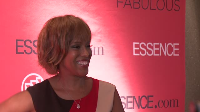 Gayle King at the Essence Magazine 40th Anniversary Fierce Fabulous Awards Luncheon at New York NY