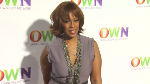 gayle king at the own: oprah winfrey network launch cocktail reception for the television critics association winter press tour at pasadena ca. - gayle king stock videos & royalty-free footage
