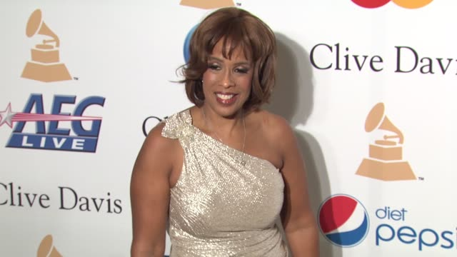 gayle king at the pre-grammy gala & salute to industry icons with clive davis honoring david geffen at beverly hills ca. - gayle king stock videos & royalty-free footage