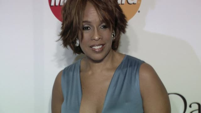 gayle king at the the recording academy clive davis present the 2010 pregrammy gala at beverly hills ca - gayle king stock videos & royalty-free footage