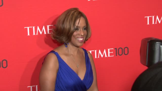 gayle king at the time 100 gala time's 100 most influential people in the world at new york ny - gayle king stock videos & royalty-free footage
