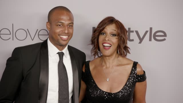 Gayle King at the Warner Bros Pictures and InStyle Host 19th Annual PostGolden Globes Party at The Beverly Hilton Hotel on January 7 2018 in Beverly...