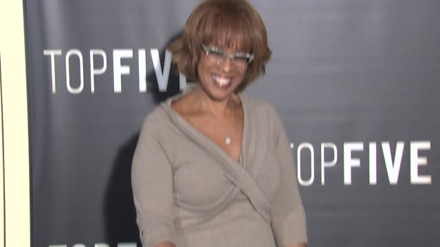 gayle king at top five new york premiere arrivals at ziegfeld theatre on december 03 2014 in new york city - gayle king stock videos & royalty-free footage