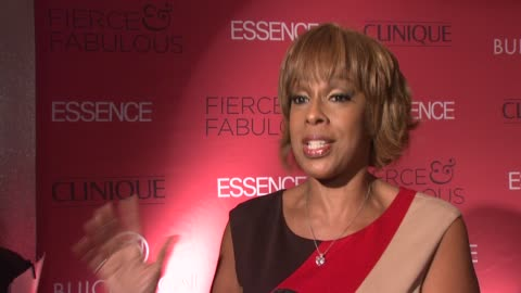 gayle king talks about celebrating essence magazine's 40th anniversary and the group of fierce & fabulous women. talks about oprah as the fierce and... - gayle king stock videos & royalty-free footage
