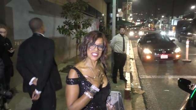 INTERVIEW Gayle King talks about Oprah Winfrey's speech at the Golden Globe Awards outside Seth Meyers' Golden Globe Awards After Party at Poppy...