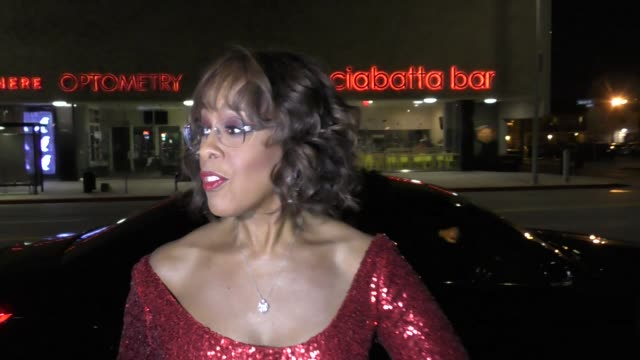 gayle king wishes a happy 75th birthday to diana ross at warwick nightclub in hollywood in celebrity sightings in los angeles - gayle king stock videos & royalty-free footage