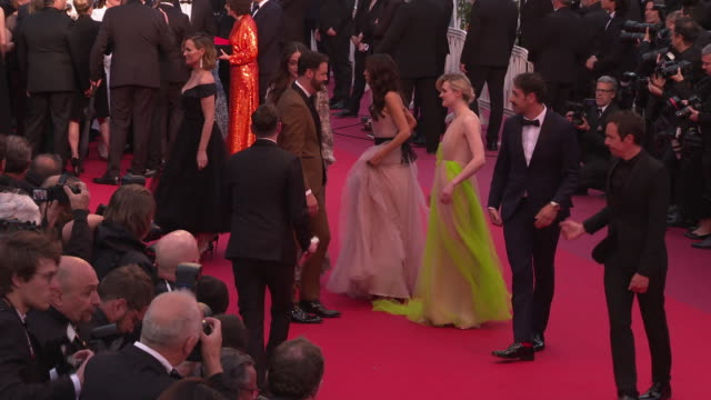 Gayle Rankin Kyle Marvin Judith Godreche Michael Angelo Covino at 'Pain Glory ' Red Carpet Arrivals The 72nd Cannes Film Festival on May 17 2019 in...