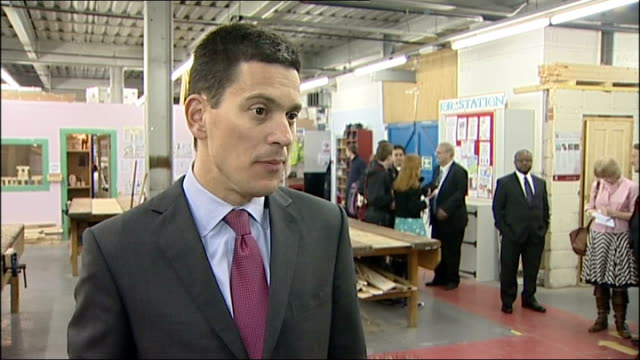 un demands inquiry / david miliband in leicester david miliband interview sot the most important thing the government can do is find out the position... - david miliband stock videos & royalty-free footage