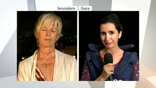 Israel security cabinet approves Gaza continued assault SPLIT SCREEN Adeem Abu Middain in Gaza and Jamie Nathan in Jersusalem