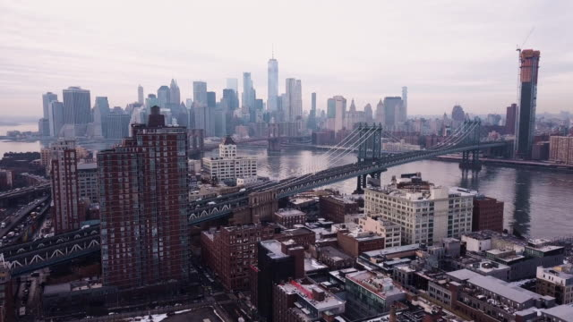 ge of new york city's skyline - manhattan new york city stock videos & royalty-free footage